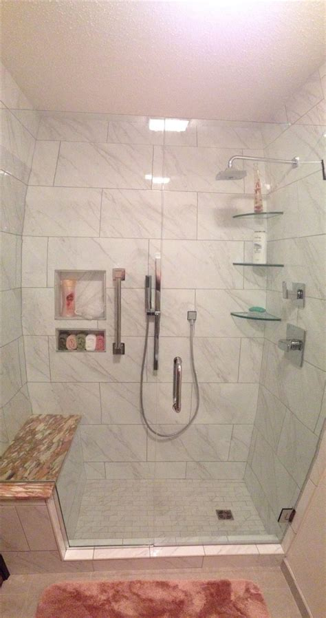 tub to shower conversion daltile florentine color carrara