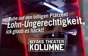 Ruhestörung Ab Wann : kiyaks theaterkolumne ruhe auf den billigen pl tzen lohn ~ Lizthompson.info Haus und Dekorationen