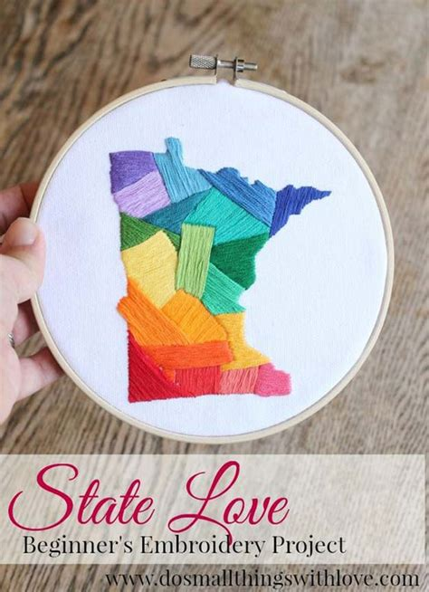 cool diy embroidery projects  crafts