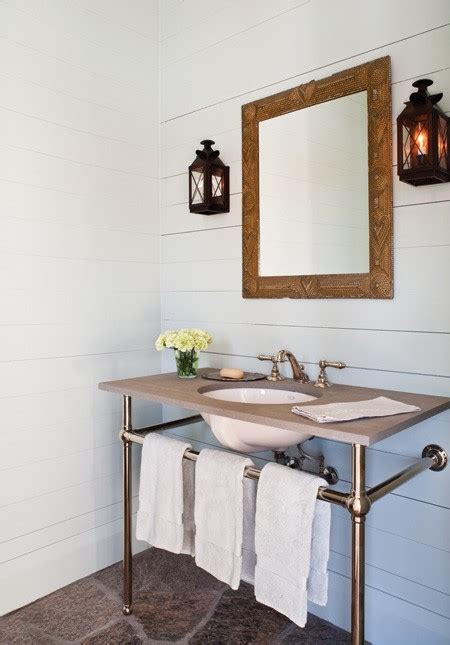 Modern Country Bathroom Decor by New Home Interior Design Modern Country Interiors