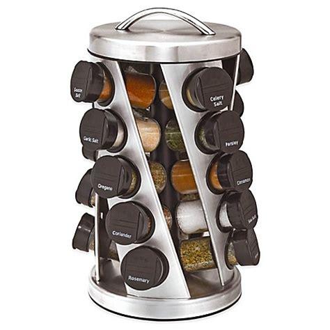 20 Spice Rack by Buy Kamenstein 174 20 Jar Twist Spice Rack From Bed Bath Beyond