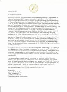 letter of recommendation military military letter of recommendation templates free printable