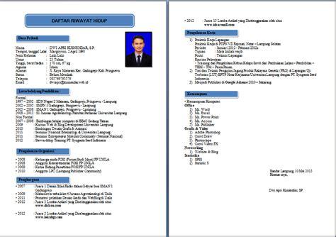 Contoh resume mintak kerja png 752x531