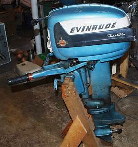 1956 Evinrude 15 Hp Outboard Motor Parts