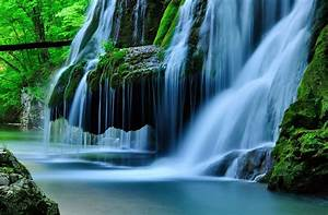 Bigar, Waterfall, Blue, Romania, National, Park, Forest