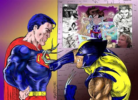 Could Wolverine's Claws Cut Superman's Skin?