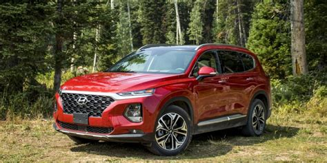 Best Mpg Midsize Car by 2019 Hyundai Santa Fe Drive Times Changed For