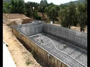 la technique du procede des piscines by giacomini expert With kit piscine beton a carreler