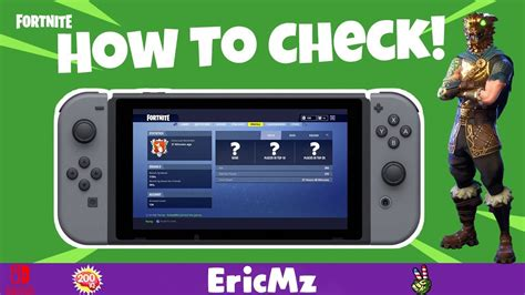 check  fortnite stats  nintendo switch