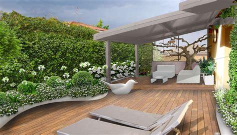 progetti terrazzi verde progetto il terrazzo per i gatti