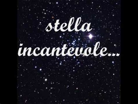 Testo Incantevole by Alessandra Amoroso Stella Incantevole