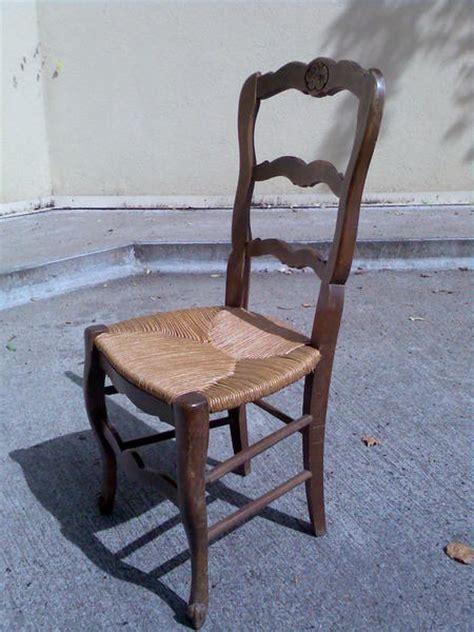 chaises paille chaise bois paille ancienne table de lit
