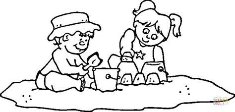 Schep Kleurplaat by Schep Emmer Kleurplaat Ausmalbild Kinder Mit Schaufel Und