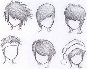 How To Draw Anime Boy Hair Step By Step For Beginners