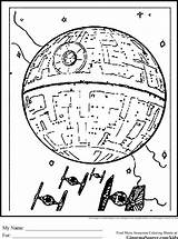 Coloring Death Star Pages Wars Colouring Printable Drawing Sheets Colour Books Starwars Getcolorings Print Getdrawings Google Drawings Hurry sketch template