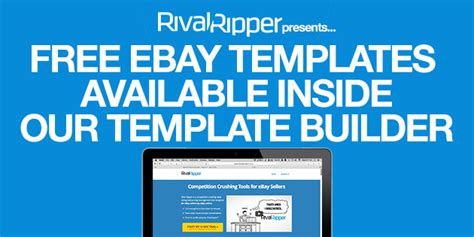free ebay listing templates free ebay listing templates available inside our template builder