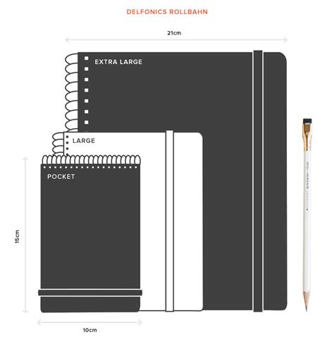 Notebook sizes The ultimate guide to notebook sizes Journal