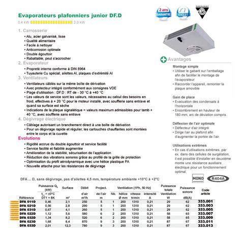 evaporateur chambre froide evaporateur plafonnier de chambre froide gea kuba dfa021d