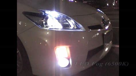3rd prius hid low beam 215 led fog 215 led turn light