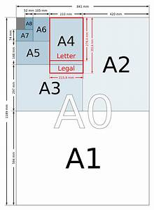a4 dimensions measurements of the different paper sizes With letter and legal size