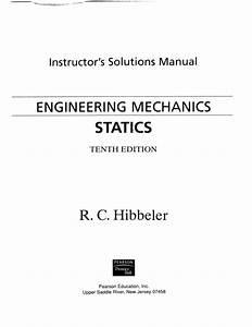 Engineering Mechanics Statics Solution Manual Pdf