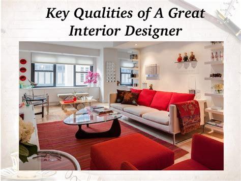 Top Qualities of a Great Interior Designer
