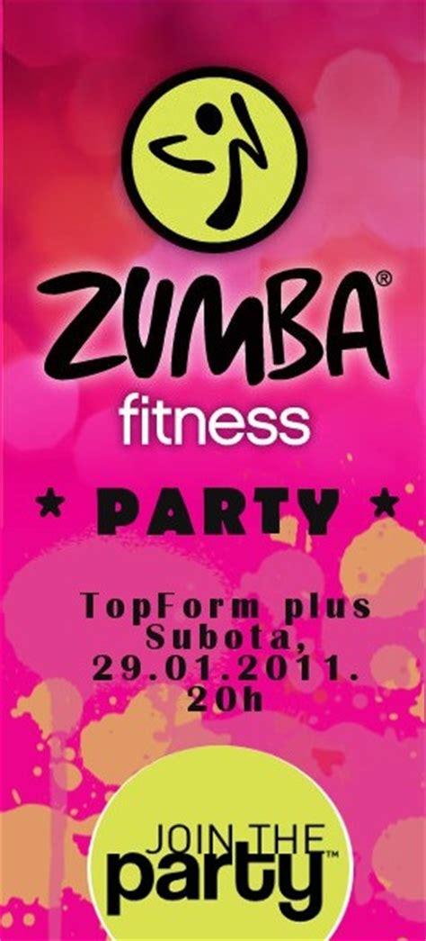 zumba class flyer