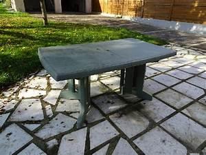 Table De Jardin Occasion : table jardin plastique clasf ~ Preciouscoupons.com Idées de Décoration