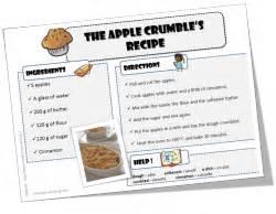 recette cuisine en anglais anglais recettes pour cuisiner avec vos élèves le