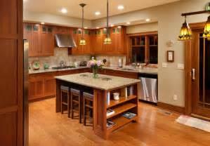 mission style kitchen island craftsman home craftsman kitchen columbus by melaragno design company llc