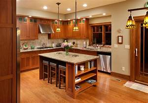 craftsman home craftsman kitchen columbus by With what kind of paint to use on kitchen cabinets for arts and crafts outdoor wall lighting