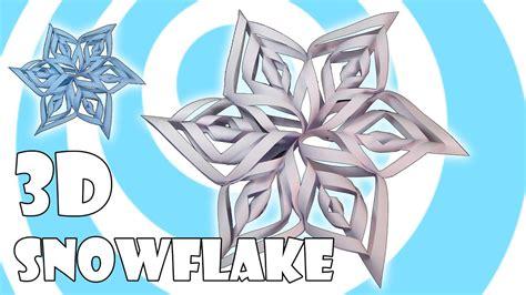 diy  paper snowflake tutorial kirigami origami