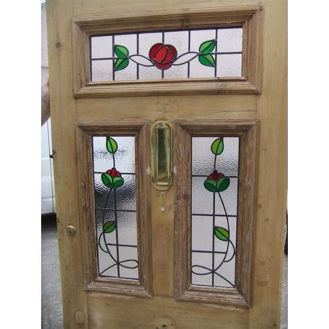 sd victorian edwardian  panel stained glass exterior