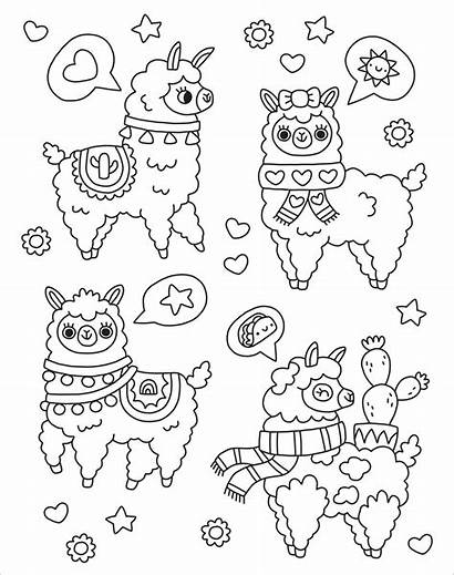 Coloring Pages Too Kaleidoscope Llamas Dolphin Books