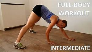 20 Minute Full Body Pyramid Workout  U2013 Intermediate Full Body Workout Routine At Home