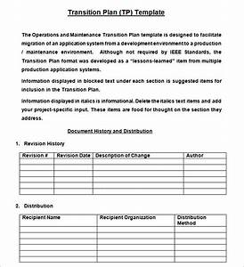 transition plan template cyberuse With contract transition plan template