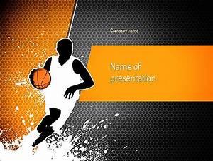 Basketball Man PowerPoint Template, Backgrounds | 11140 ...