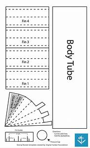 stomp rocket template free pdf download by digital harbor With paper stomp rocket template