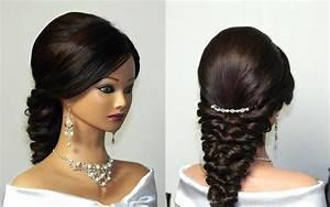Wedding Prom Mermaid Hairstyle For Long Hair YouTube