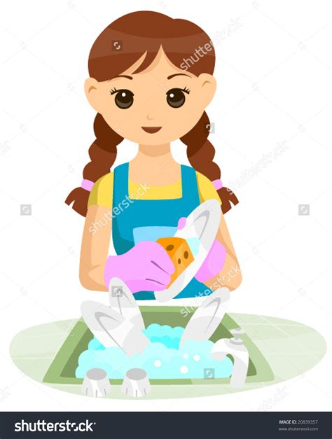 Washing Dishes Clipart Wash Dishes Clipart