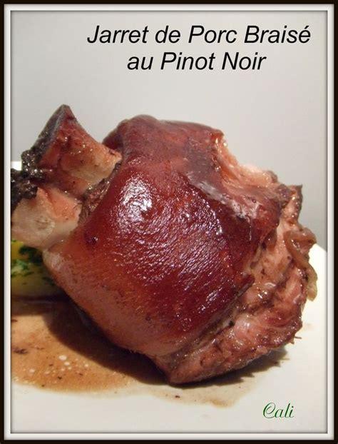 jarrets de porc braises au pinot noir jarretes de cerdo