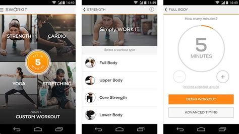 best fitness apps for android 15 best android fitness apps and workout apps android