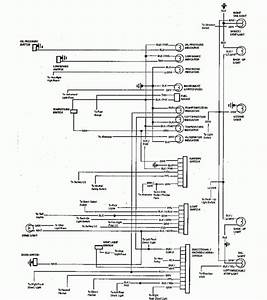1966 Chevrolet El Camino Wiring Diagram Part 1  61827