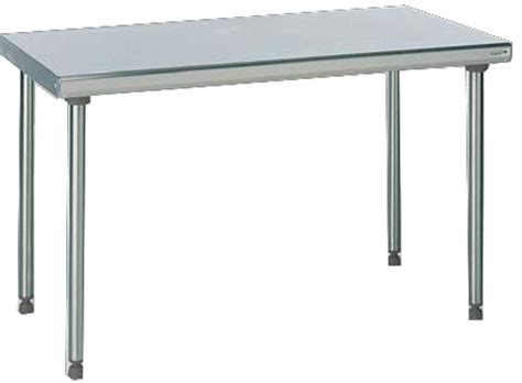table de cuisine inox table inox bacchus equipements mat 233 riel inox