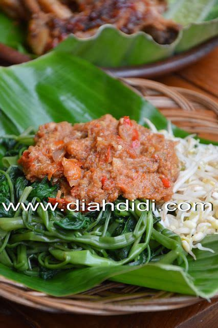 diah didis kitchen plecing kangkung tummy yummy food