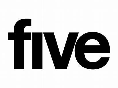 Channel Five 2002 2008 Creative Wordmark Rebrands