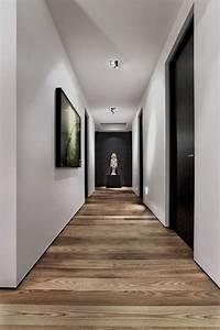 Couloir Gris Et Blanc : 18 id es pour la peinture du couloir photos astuces ~ Melissatoandfro.com Idées de Décoration