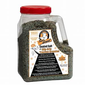 Bare Ground 12 Lb  Coated Ice Melt With Traction Granules