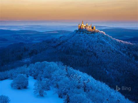 Germany Hohenzollern Castle near Stuttgart-2017 Bing ...