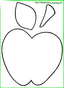 šablona jablko ovoce a zelenina apples craft and patterns